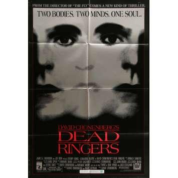FAUX SEMBLANTS Affiche de film 69x104 cm - 1988 - Jeremy Irons, David Cronenberg