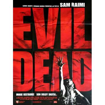 THE EVIL DEAD Movie Poster 47x63 in. - R2013 - Sam Raimi, Bruce Campbell