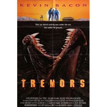 TREMORS Affiche de film 69x104 cm - 1990 - Kevin Bacon, Ron Underwood