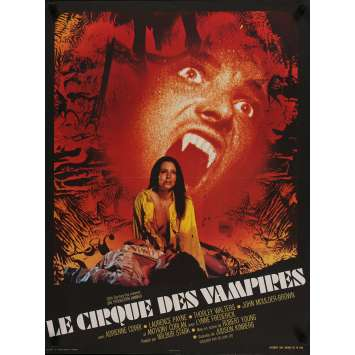 VAMPIRE CIRCUS Movie Poster 23x32 in. - 1972 - Robert Young, Adrienne Cori
