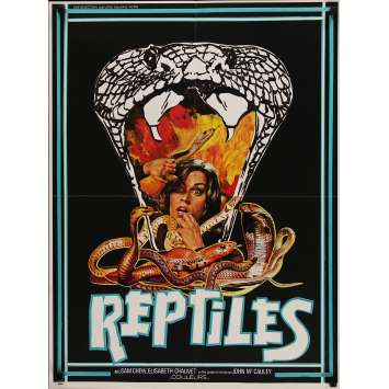 LES REPTILES ATTAQUENT Affiche de film 60x80 cm - 1976 - Harry Novak, John McCauley