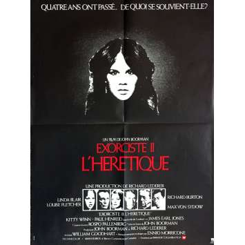 EXORCIST II THE HERETIC Movie Poster 23x32 in. - 1977 - John Boorman, Richard Burton