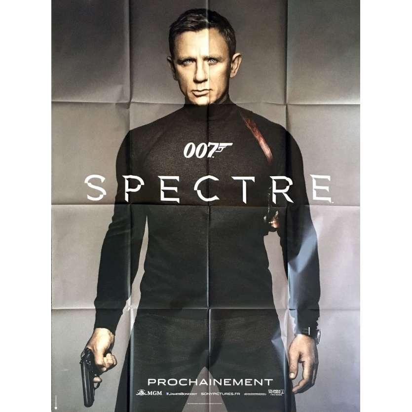 SPECTRE Affiche de film PLIEE 120x160 - 2015 - James Bond, Daniel Craig, 007