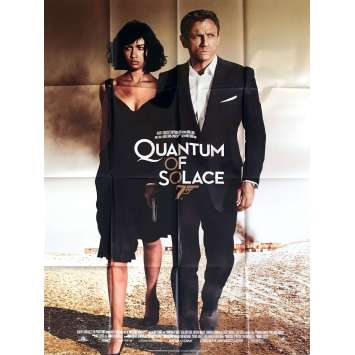 QUANTUM OF SOLACE Affiche de film 120x160 - 2008 - Daniel Craig, James Bond