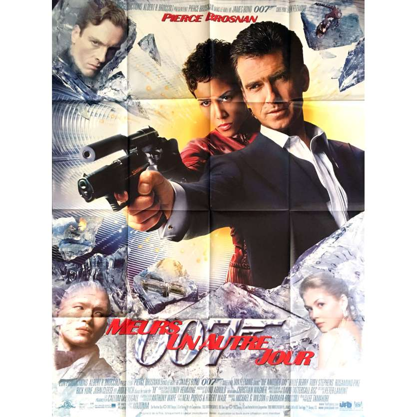 DIE ANOTHER DAY French Movie Poster 47x63 - 2002 - Lee Tamahori, Pirce Brosnan