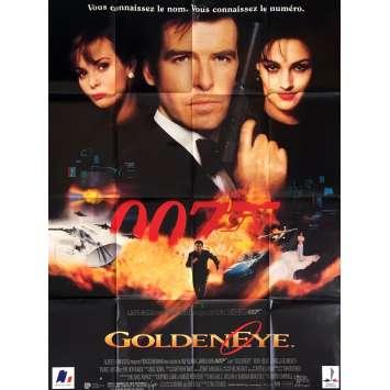 GOLDENEYE Affiche 120x160 FR '95 Pierce Brosnan, 007 James Bond Movie Poster