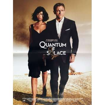 QUANTUM OF SOLACE Affiche de film 40x60 - 2008 - Daniel Craig, James Bond
