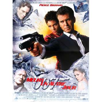 MEURS UN AUTRE JOUR Affiche de film 40x60 - 2002 - Pierce Brosnan, James Bond