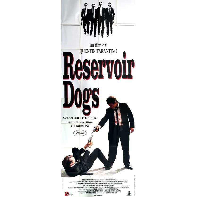 RESERVOIR DOGS Affiche de Cinéma 120x320, 1992 - Tarantino, Comme neuve !