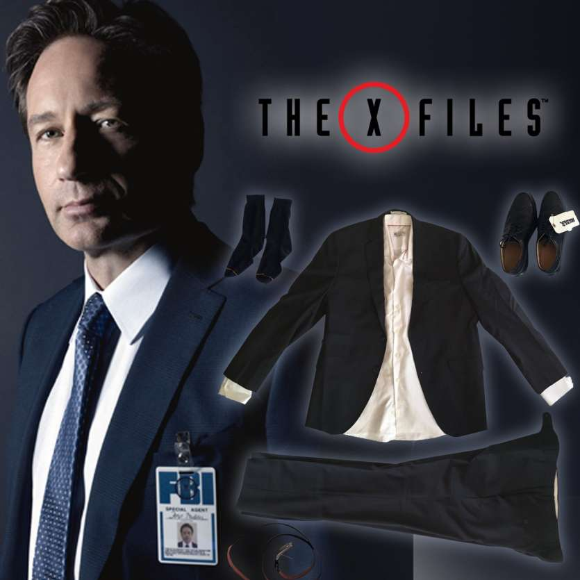 X-FILES Costume complet de Mulder utilisé par la production !