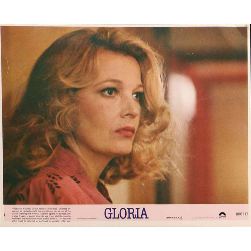 GLORIA Lobby Card N01 8x10 in. - 1980 - John Cassavetes, Gena Rowlands