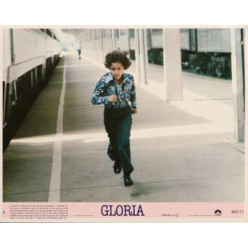 GLORIA Lobby Card N04 8x10 in. - 1980 - John Cassavetes, Gena Rowlands