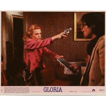 GLORIA Photo de film N05 20x25 cm - 1980 - Gena Rowlands, John Cassavetes