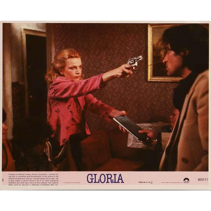 GLORIA Lobby Card N05 8x10 in. - 1980 - John Cassavetes, Gena Rowlands