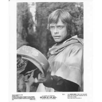 STAR WARS - LE RETOUR DU JEDI Photo de presse N03 20x25 cm - R1985 - Harrison Ford, Richard Marquand