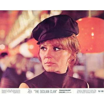 THE SICILIAN CLAN Lobby Card N07 8x10 in. - 1969 - Henri Verneuil, Lino Ventura