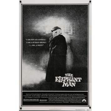 ELEPHANT MAN Movie Poster 29x41 in. - 1980 - David Lynch, John Hurt