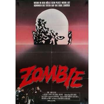 ZOMBIE Affiche de film 59x84 cm - 1979 - Sarah Polley, George A. Romero