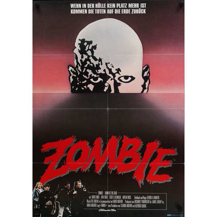 DAWN OF THE DEAD Movie Poster 23x33 in. - 1979 - George A. Romero, Sarah Polley