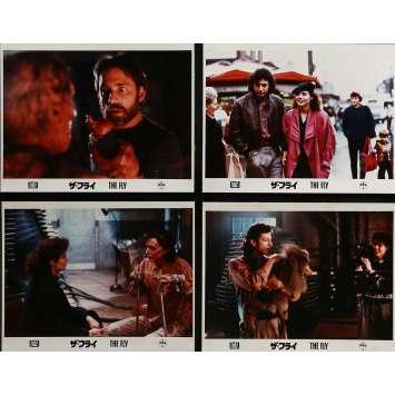 THE FLY Lobby Cards x8 9x12 in. - 1986 - David Cronenberg, Jeff Goldblum