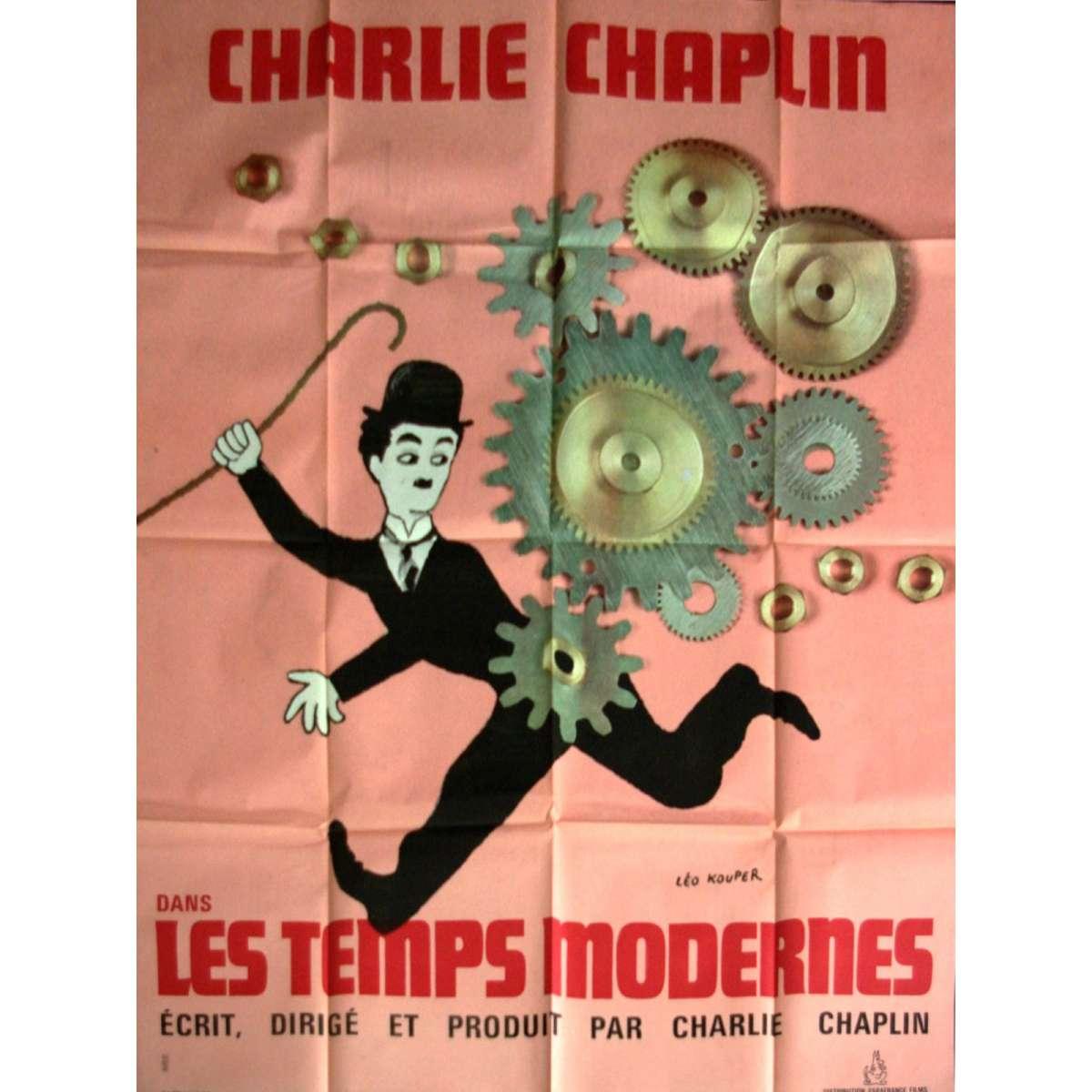 charlie chaplins modern times