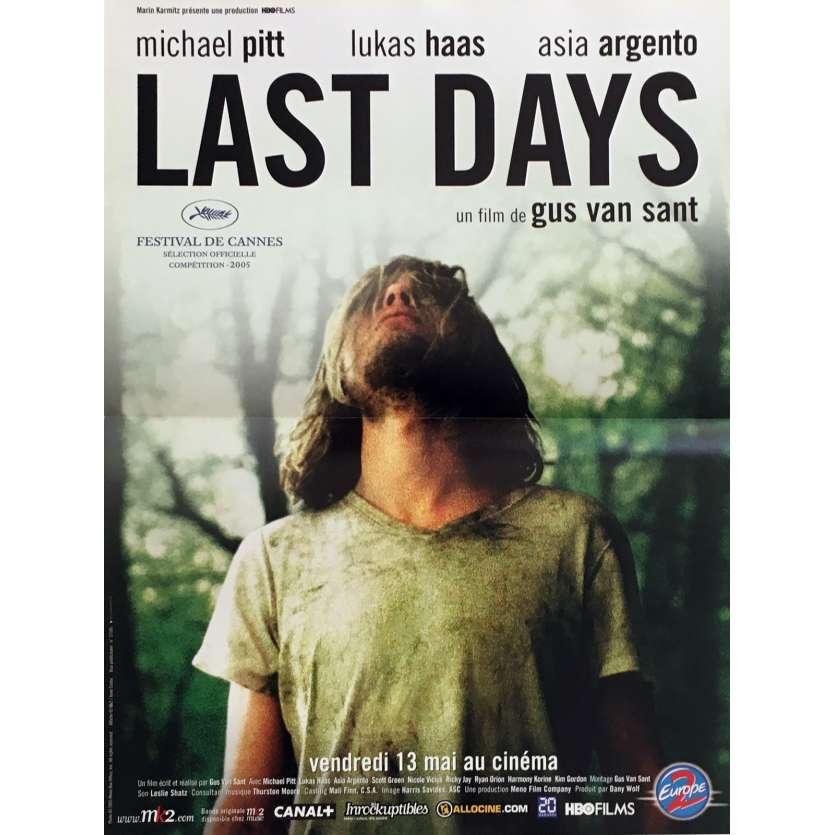 LAST DAYS Affiche de film 40x60 cm - 2005 - Michael Pitt, Gus Van Sant