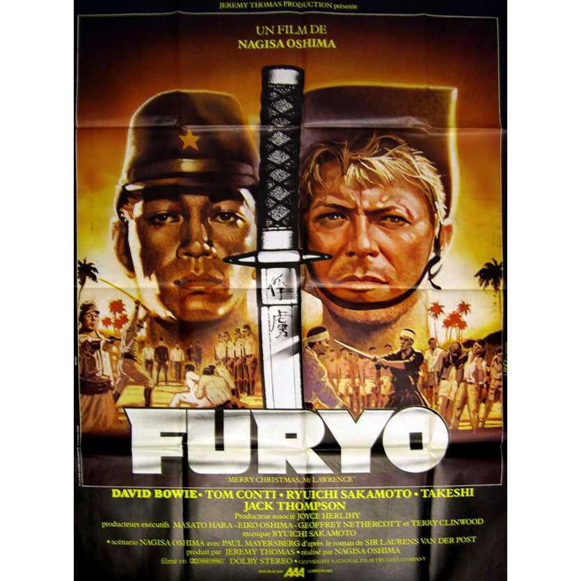 FURYO Affiche French Movie Poster 47x63 '82 David Bowie