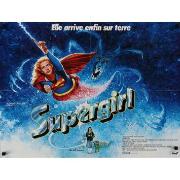SUPERGIRL French Movie Poster 23x32 - 1984 - Jeannot Szwarc, Helen Slater