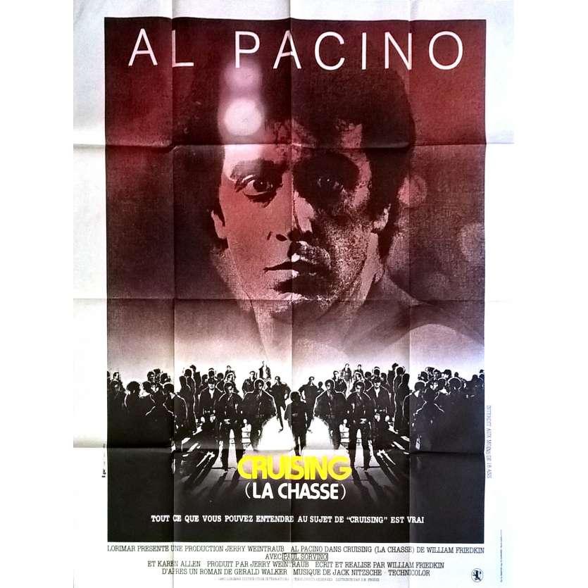 CRUISING - LA CHASSE Affiche de film 120x160 cm - 1980 - Al Pacino, William Friedkin