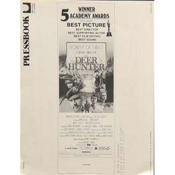 VOYAGE AU BOUT DE L'ENFER Dossier de presse 20x30 cm - 1978 - Robert de Niro, Michael Cimino