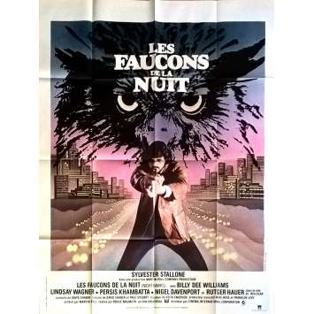 LES FAUCONS DE LA NUIT Affiche de film 120x160 cm - 1981 - Sylvester Stallone, Bruce Malmuth