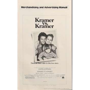 KRAMER CONTRE KRAMER Dossier de presse 20x30 cm - 1979 - Dustin Hoffman, Robert Benton