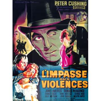 THE FLESH AND THE FIENDS French Movie Poster 47x63 - 1960 - John Gilling, Peter Cushing
