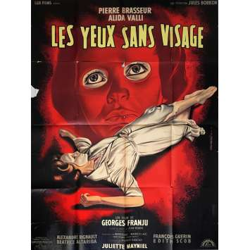 EYES WITHOUT A FACE French Movie Poster 47x63 - 1960 - Georges Franju, Pierre Brasseur