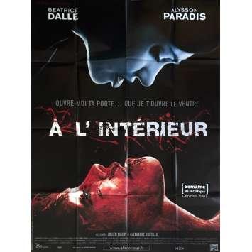 A L'INTERIEUR Affiche de film 120x160 cm - 2007 - Béatrice Dalle, Alexandre Bustillo, Julien Maury
