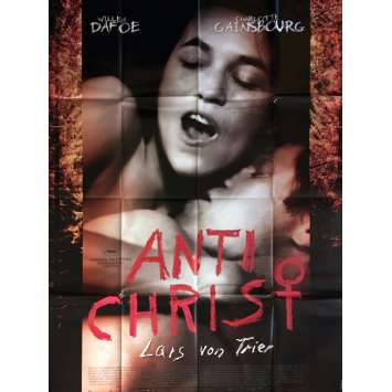 ANTICHRIST Affiche de film 120x160 cm - 2009 - Willem Dafoe, Lars Von Trier