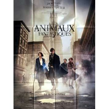 FANTASTIC BEASTS Movie Poster 47x63 in. - 2016 - David Yates, Eddie Redmayne