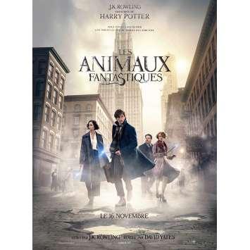 LES ANIMAUX FANTASTIQUES Affiche de film 40x60 cm - 2016 - Eddie Redmayne, David Yates