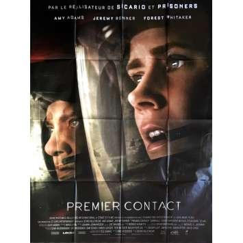 PREMIER CONTACT Affiche de film 120x160 cm - 2016 - Amy Adams, Denis Villeneuve