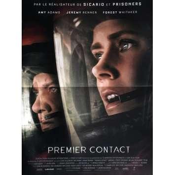 PREMIER CONTACT Affiche de film 40x60 cm - 2016 - Amy Adams, Denis Villeneuve