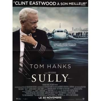 SULLY Movie Poster 15x21 in. - 2016 - Clint Eastwood, Tom Hanks