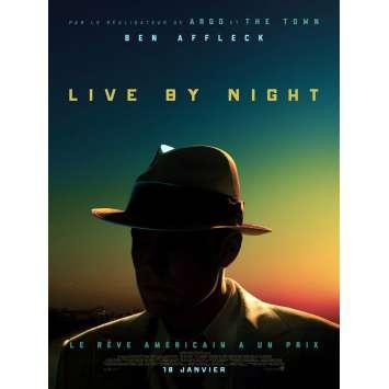 LIVE BY NIGHT Affiche de film 40x60 cm - 2017 - Zoe Zaldana, Ben Affleck