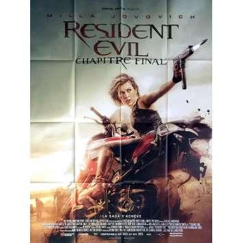 RESIDENT EVIL CHAPITRE FINAL Affiche de film 120x160 cm - 2017 - Milla Jovovich, Paul W.S. Anderson
