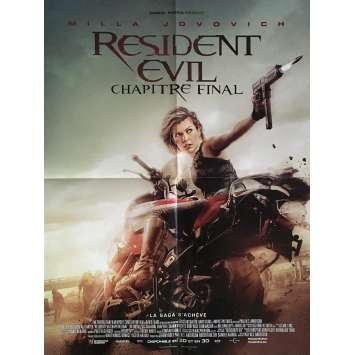 RESIDENT EVIL FINAL CHAPTER Movie Poster 15x21 in. - 2017 - Paul W.S. Anderson, Milla Jovovich