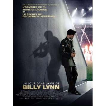 UN JOUR DANS LA VIE DE BILLY LYNN Affiche de film 40x60 cm - 2017 - Joe Alwyn, Ang Lee