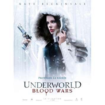 UNDERWORLD BLOOD WARS Affiche de film 40x60 cm - 2017 - Kate Beckinsale, Anna Foerster