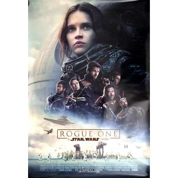 STAR WARS ROGUE ONE Movie Poster Adv. Int'l 27x40 in. - 2016 - Gareth Edwards, Felicity Jones