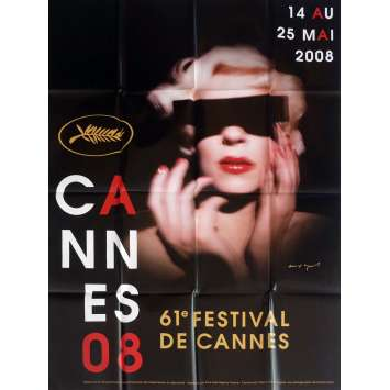 FESTIVAL DE CANNES 2008 Affiche Officielle 120x160 cm - 2016 - David Lynch