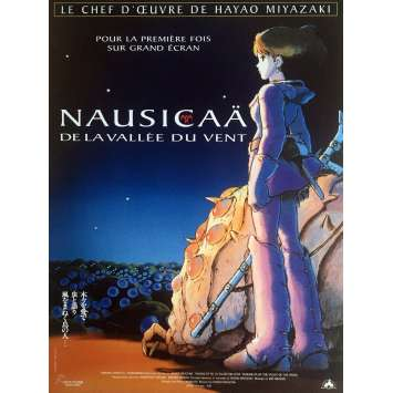 NAUSICAA Movie Poster 15x21 in. - 1984 - Hayao Miyazaki, Sumi Shimamoto