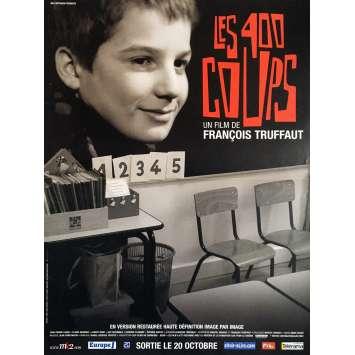 LES 400 COUPS Affiche de film 40x60 cm - 1959 - Jean-Pierre Léaud, François Truffaut